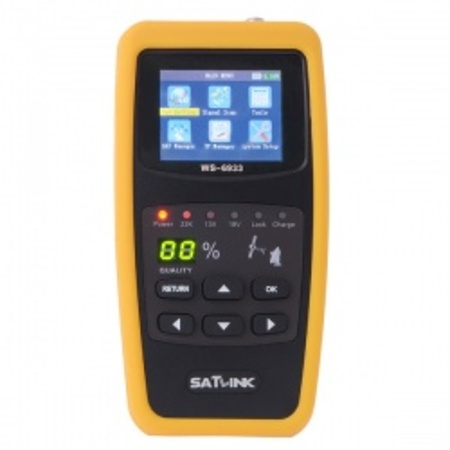 Preview satlink ws 6933 dvb s2 fta c ku band digital satellite finder meter