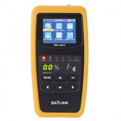 Thumb satlink ws 6933 dvb s2 fta c ku band digital satellite finder meter
